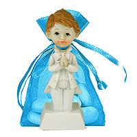 Figurines Communion à Genoux Elegance Contenant Dragées