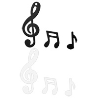 Les Confettis Notes de Musique 20 gr