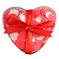 La Boite Coeur Confettis de Bain Coeurs