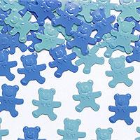 Confettis Ours Bleu et Ciel