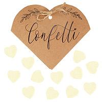 Cornet Coeur Kraft Confettis