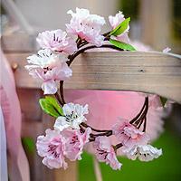 Couronne Fleurs de Ceriser