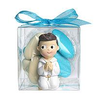 Boites Transparentes avec Dragées Figurine Communion