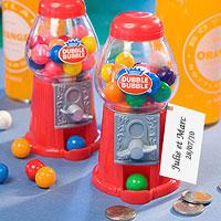 Mini Distributeur à Chewing-Gum Rouge