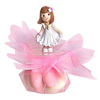 Pochons Dragées avec Mini Figurine Communion
