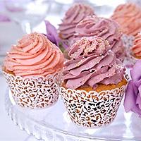 Lot de 10 Entourages Colerettes Cupcake Dentelle