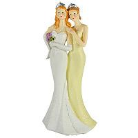 La Figurine des Mariées Pacs ou Mariage Femmes