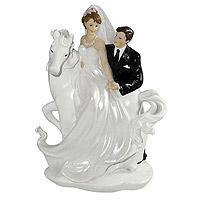 Figurine Mariage Cheval Blanc