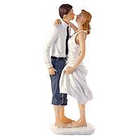 La Figurine des Mariés Pieds dans l'Eau