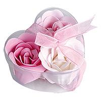 Roses Fleurs de Bain Savon pas cher