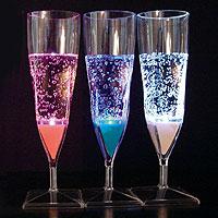Flutes à Champagne Lumineuses Led x2