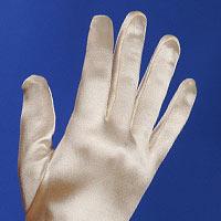 Les gants en satin
