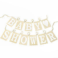 Guirlande Baby Shower Fanions Lin
