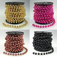 La Guirlande Sapin Boules Perles Métalisées 8m50