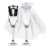 Les Habits de Mariés pour habiller vos Flutes