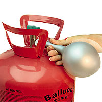 Bonbonne d'Hélium Lacher de Ballons 0.42 m3