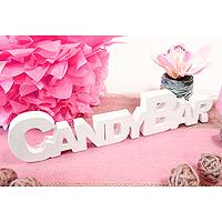 Lettres en Bois Candy Bar