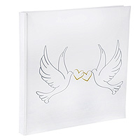 Livre d'Or Mariage Blanc Colombes