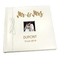 Livre d'Or Personnalisé Mariage Mr and Mrs
