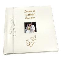 Livre d'Or Personnalisé Mariage Papillons