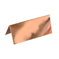 Chevalet Marque Place Carton Rose Gold Discount