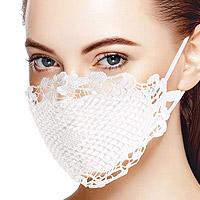 Masque Mariage Dentelle