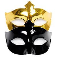 Masque Loup de Fête Brillant pas cher