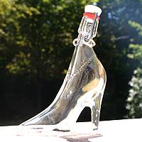 Mignonette en Verre Soulier Cendrillon x1