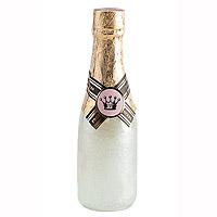 Bouteille Champagne Gel Douche Blanc Cadeau à Offrir