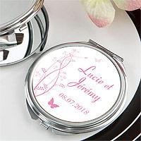 Miroir de Poche Personnalisé Mariage