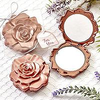 Petit Miroir de Sac Rose Gold