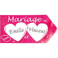 La Plaque de Signalisation du Lieu du Mariage