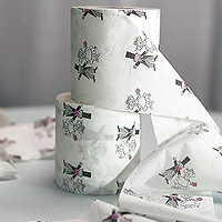 Le Rouleau de Papier Toilette des Mariés Humoristique