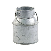 Petit Pot à Lait en Zinc avec Anse 9cm