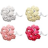 Lot de 24 Mini Roses Ourlées en Satin