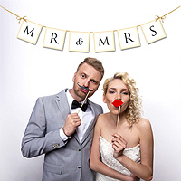 Bannière Fannions Photobooth MR and MRS