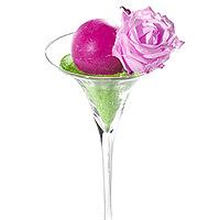 Le Photophore Vase Martini Géant sur Tige Luxe 40 cm XXL