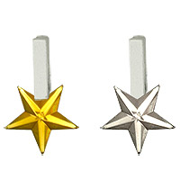 Mini Pinces Etoiles Strass Brillantes Marque Pllace