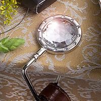 Le Porte Sac ROND Cristal et Strass Boite cadeau