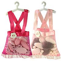 Mini Robes sur Cintre Dragées Bapteme