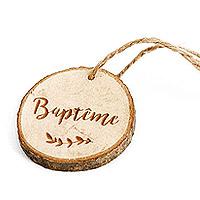 Rondins de Bois Baptême