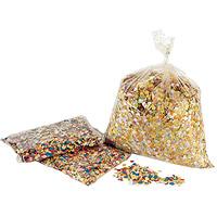 Sachet de Confettis Multicolor 100g pas cher