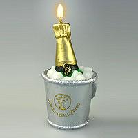 La Bougie Seau à Champagne Boite Transparente