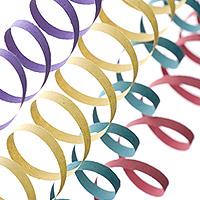 Rouleaux Serpentins Multicolor pas cher