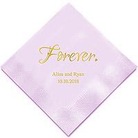 Serviettes Personnalisées Pas Cher Forever
