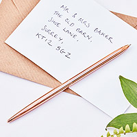 Stylo Livre d'Or Mariage Rose Gold Pas Cher