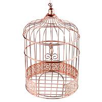 Tirelire Cage Métal Rose Gold