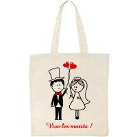 Tote Bag Mariage Vive les Mariés