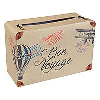 Urne Valise Tirelire Bon Voyage Vintage