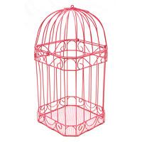 La Cage à Oiseaux Urne des Mariés Métal Couleur